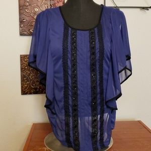 Med maurices top blouse